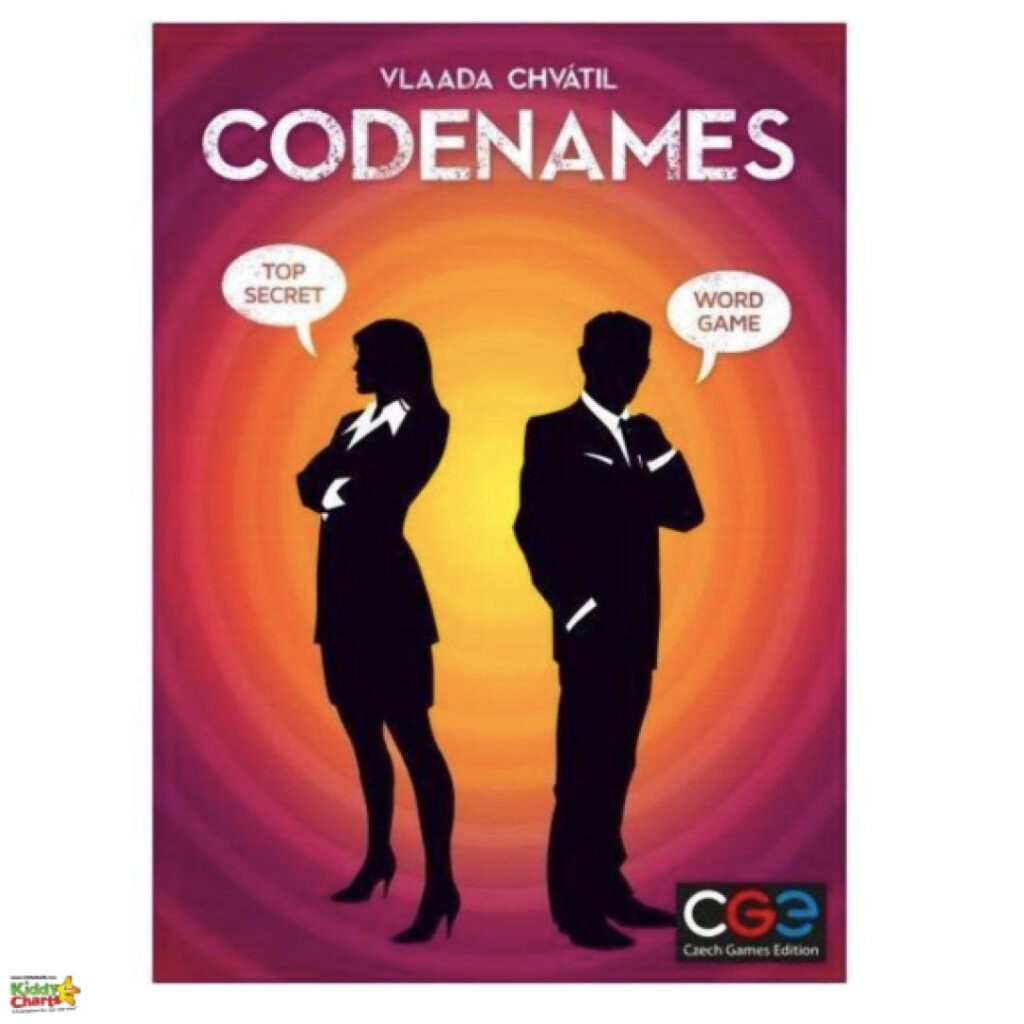 CODENAMES board game.