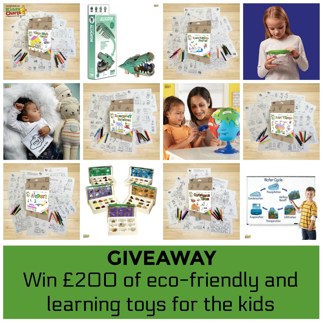 Are you looking for eco friendly gifts for the kids - or perhaps some toys that teach them about the environment. Check out our gift guide for kids now! And win if it is before 20th June, 2019 #giftguide #kids #green #eco #ecofriendly