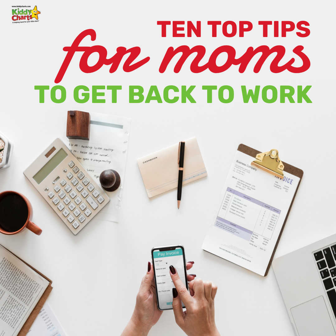Are you looking to get back to work after taking some time off as a mum? We've got ten fabulous tips for you! #workingmums #kids #parenting #workingmoms #moms #working #parentingtips