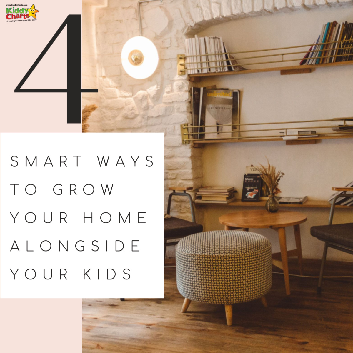 Do you need more space as the kids grow? We've got some great ideas to help your home grow with your kids without breaking the bank! #home #interiordesign #familyhomes #familylife #livingspaces #livingrooms