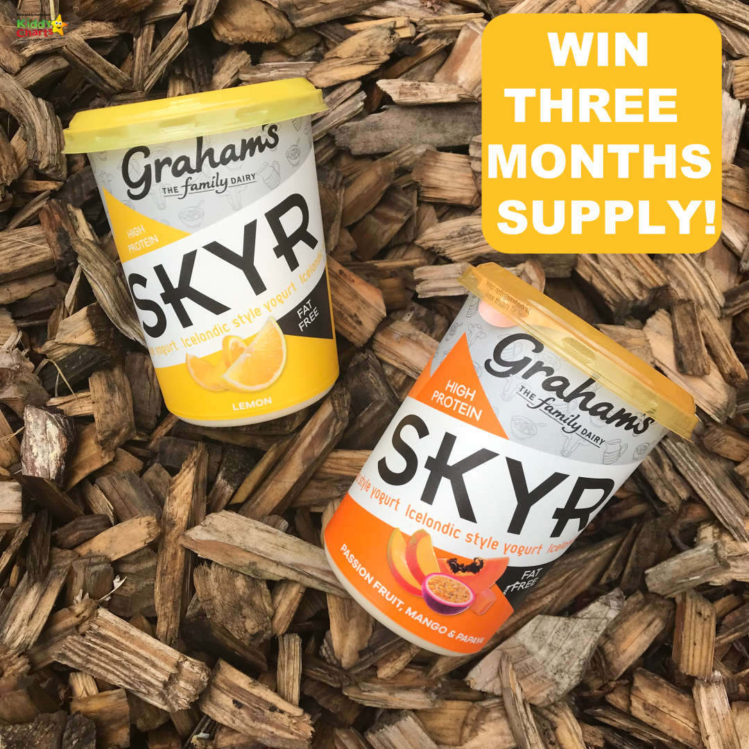 We have tried the new Icelandic Yoghurt from Skyr - we let you know what we think AND give you the chance to win 3 month's supply as well #yoghurt #win #lowfat #healthy