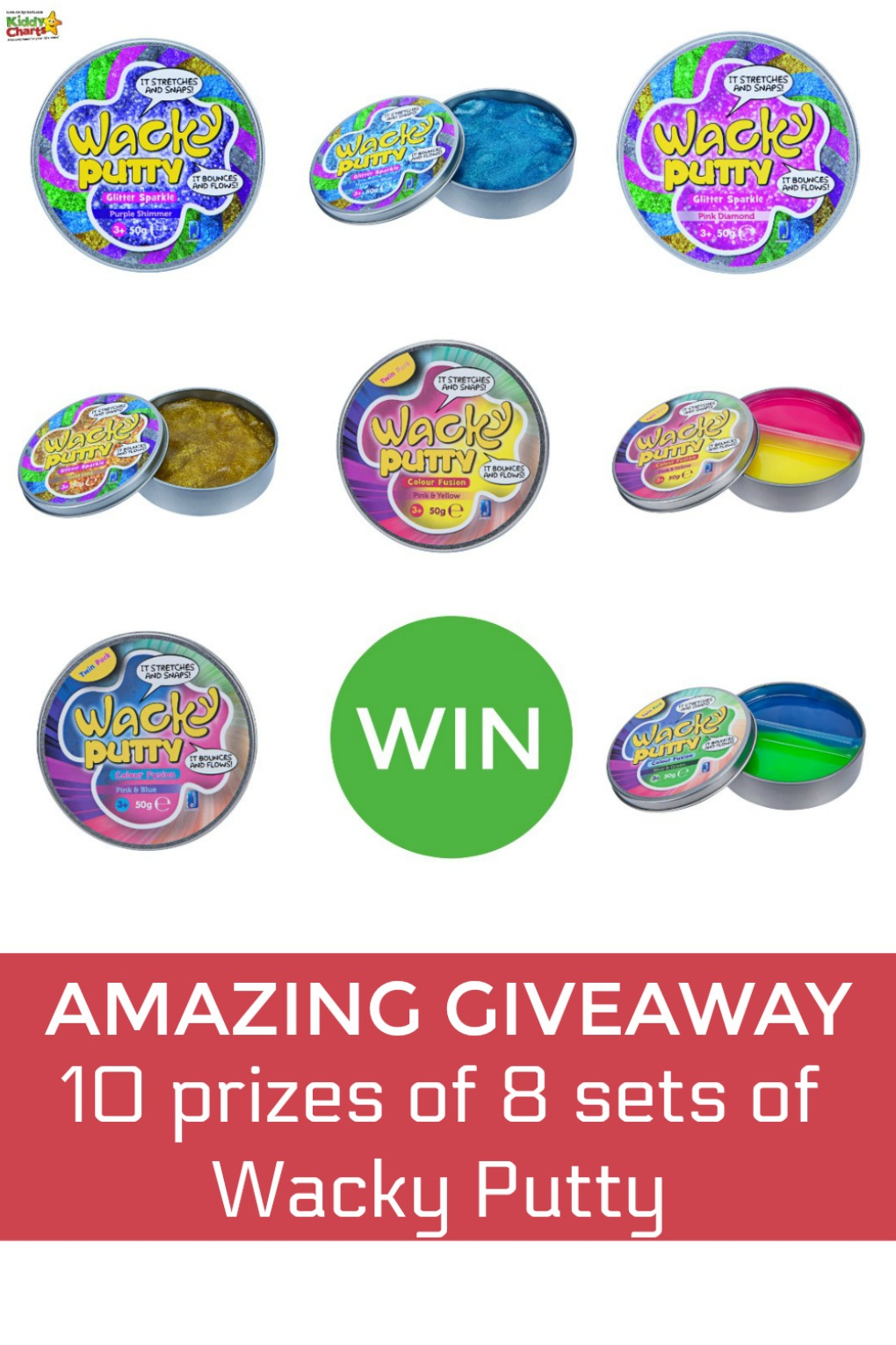 Come along and you can WIN some wacky putty to keep the kids entertained today! #putty #activities #kidsactivities #toys