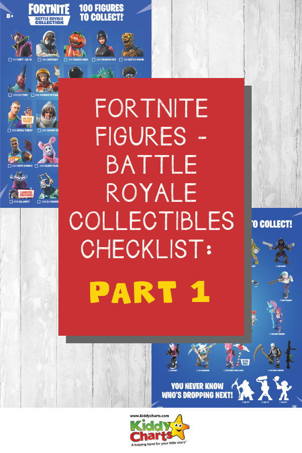 Download the Fortnite Figure checklist now for Battle Royale fun Fun FUN! #fornite #toys #battleroyale #kids #toys #technology