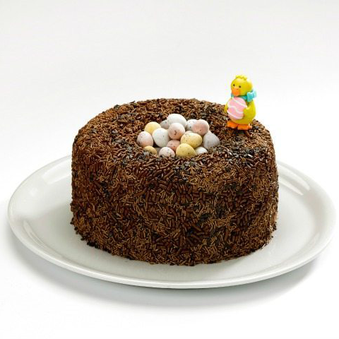 Chocolate Easter cake for kids - cake dessert and biscuit recipes