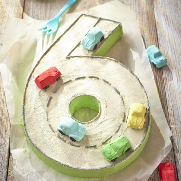 easy number 6 cake - cake dessert and biscuit recipes