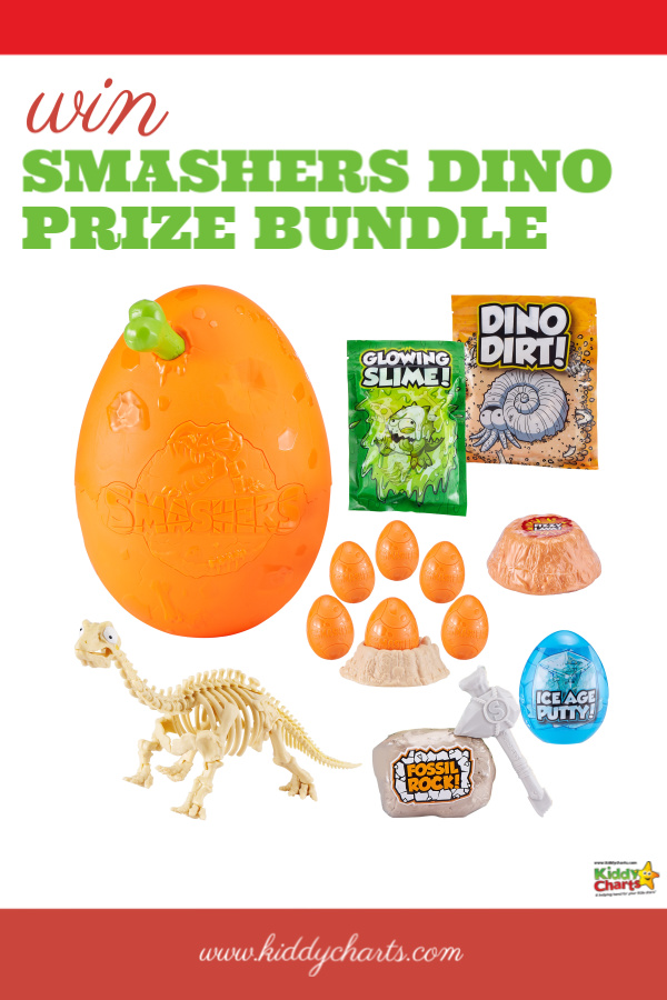For day FIVE of our Summer Countdown on KiddyCharts, we have teamed up with ZURU to offer a roarsome Smashers Dino prize including an Epic Dino Egg!