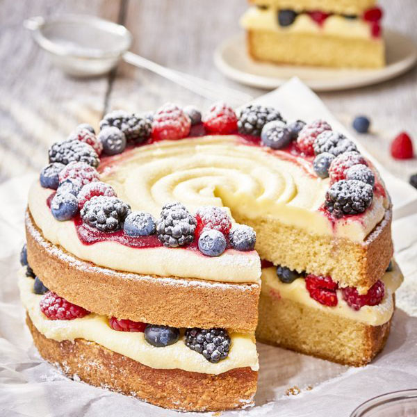 forest fruit cake - cake dessert and biscuit recipes