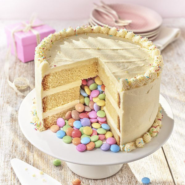 simple pinata birthday cake - cake dessert and biscuit recipes