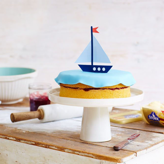 sail boat birthday cake - cake dessert and biscuit recipes