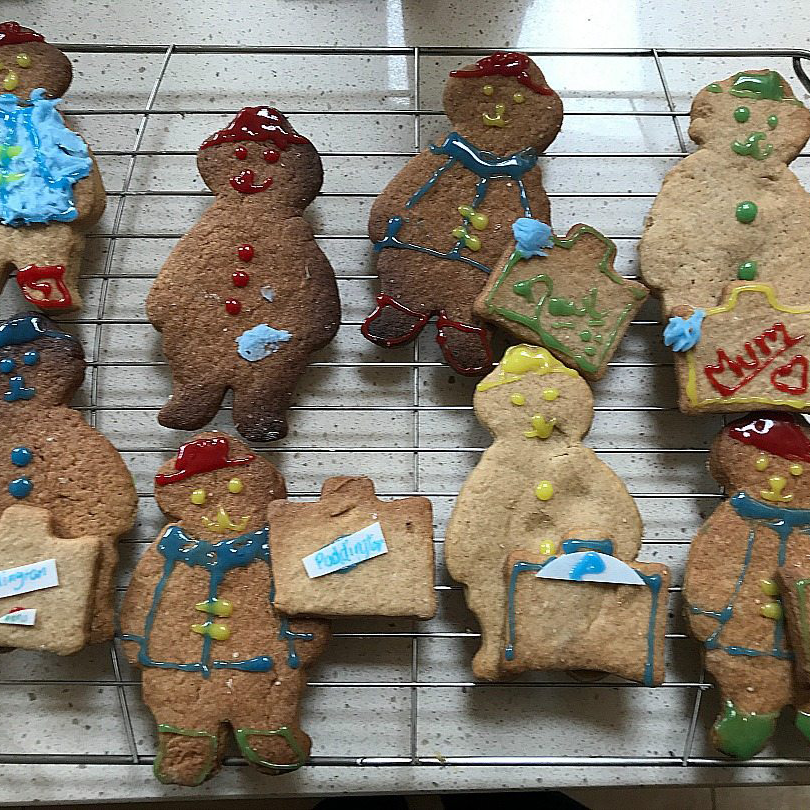 gingerbread bears paddington 2 - cake dessert and biscuit recipes