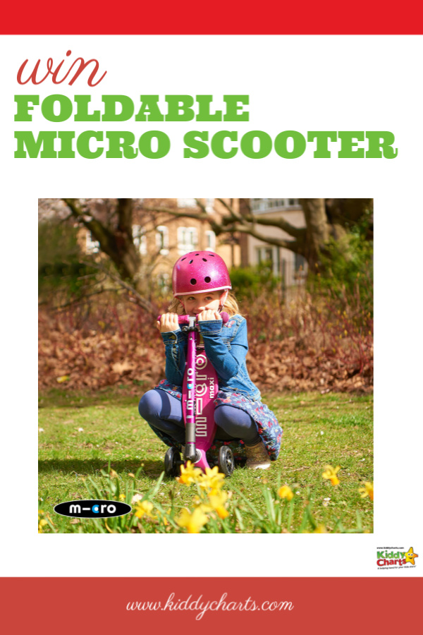foldable micro scooter giveaway