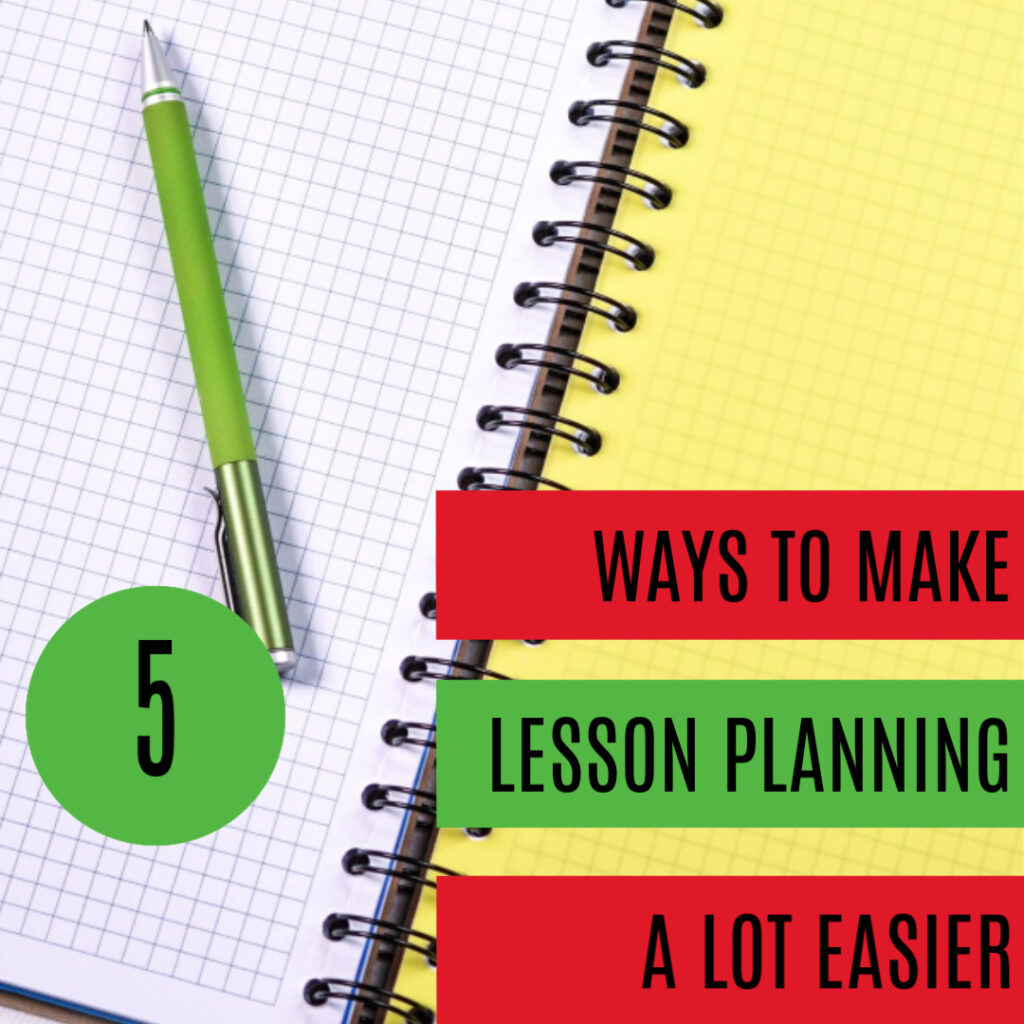 lesson planning: graphic