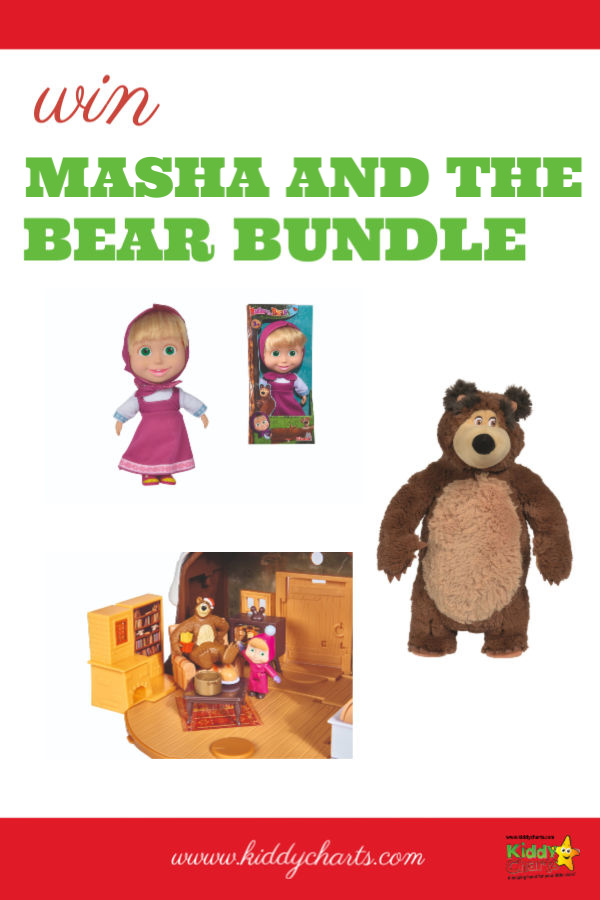 Masha and the Bear goodies giveaway to celebrate Season 3 launching!