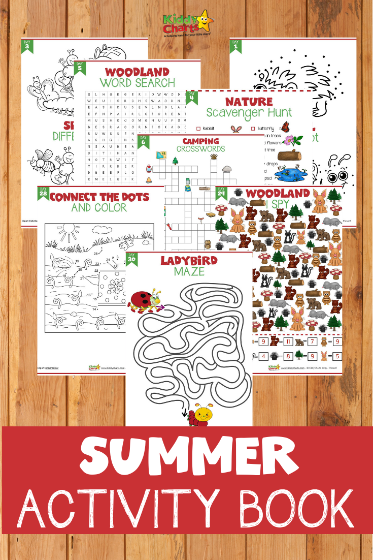 Grab 31 PAGES of summer activities for the kids - one for every. single. day. in August! #kidsactivities #summer #summerholidays #summercamp #summerfun #kids #ebooks
