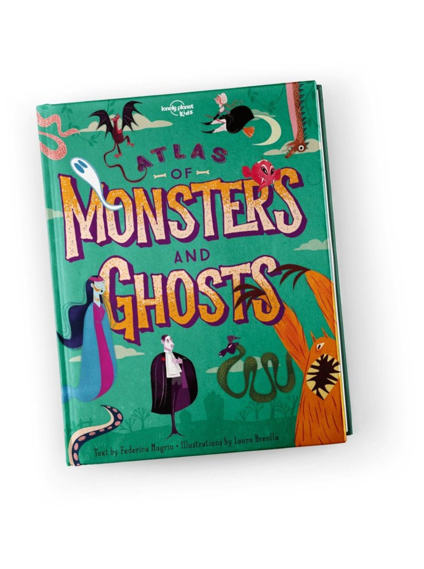 Atlas of Monsters and Ghosts cover image.