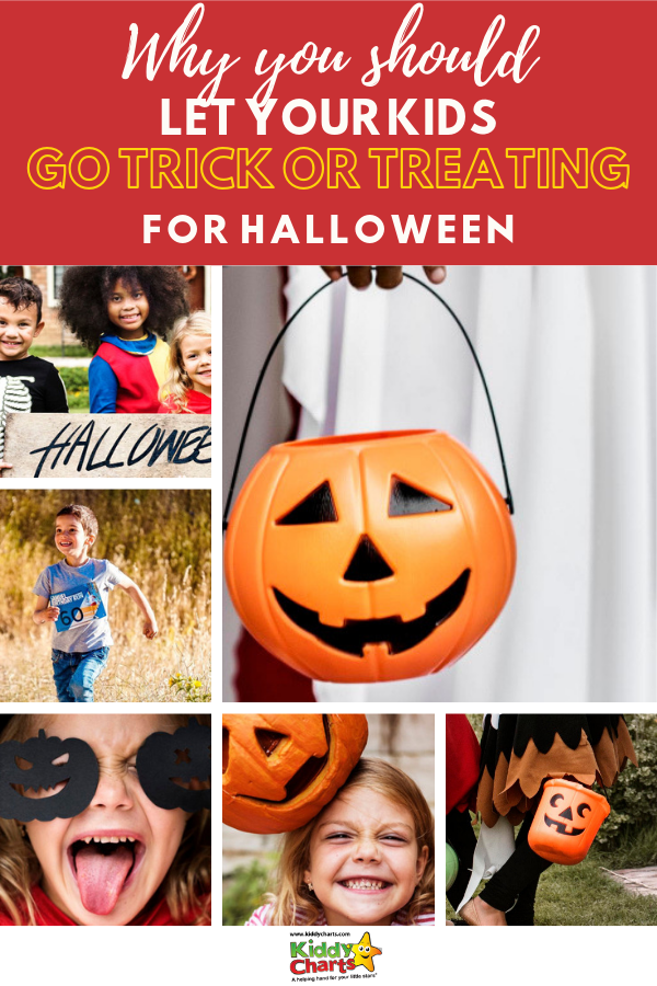 Why you should let your kids go trick or treating this Halloween.