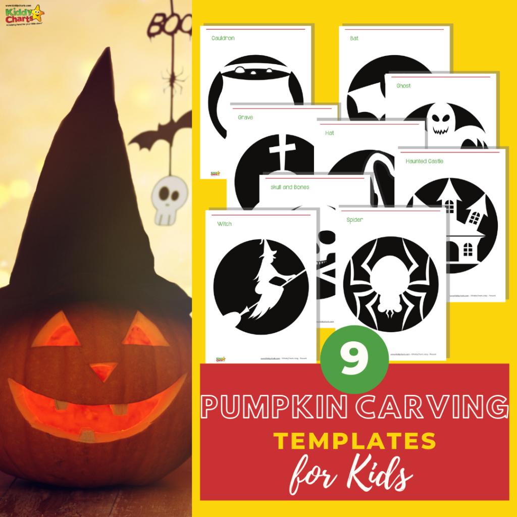 pumpkin carving templates for kids