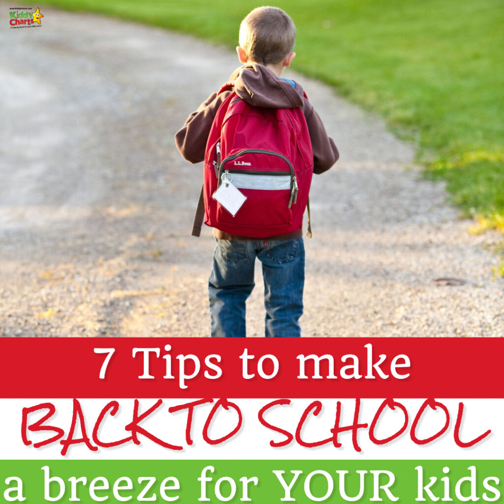Are you anxious about preparing your kids for back to school? Our 7 tips to make back to school a breeze for your child is a must read!