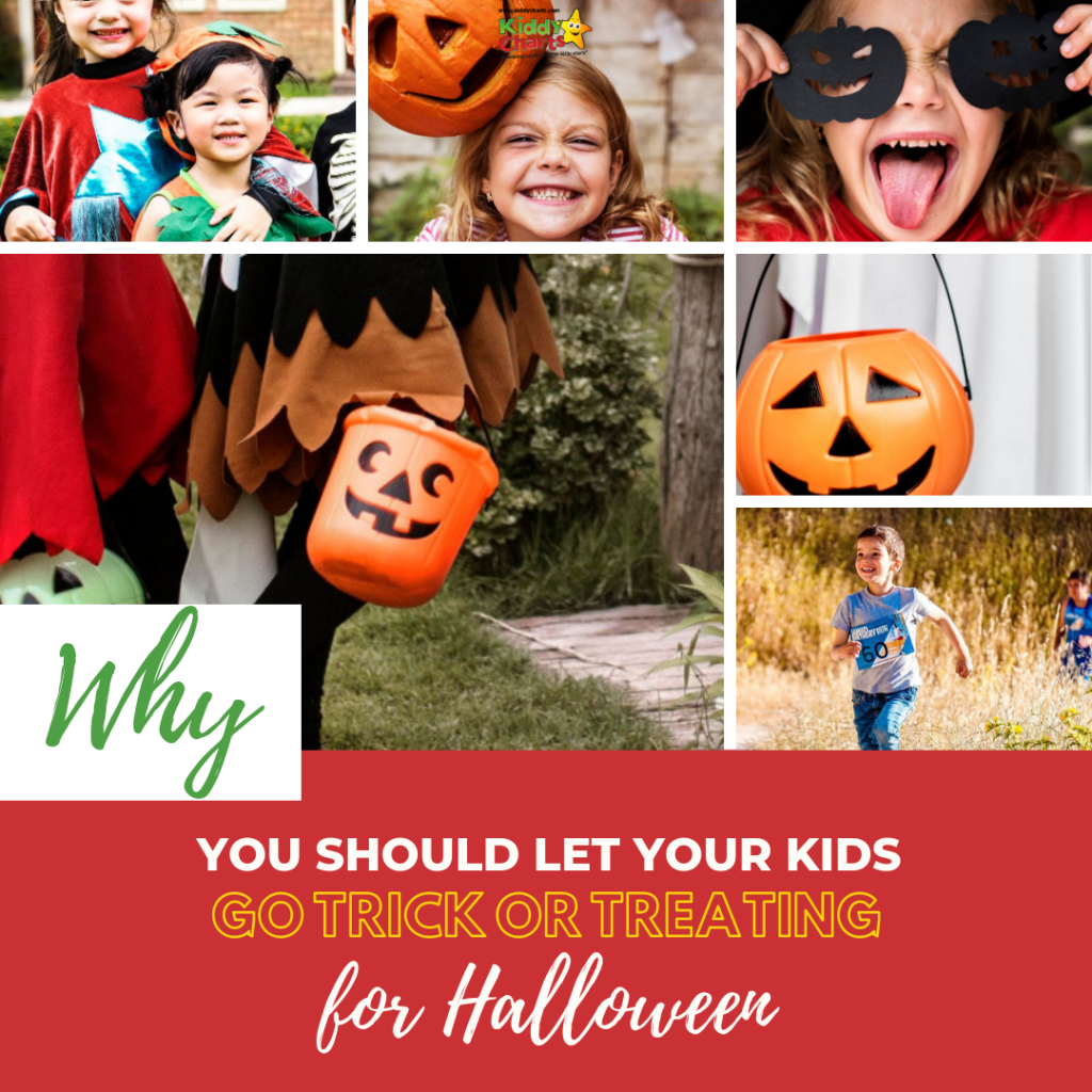 Why you should let your kids go treat or treating this year.