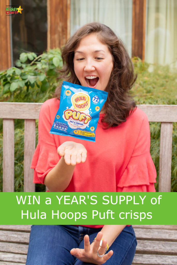 Win a year's supply of Hula Hoops Puft crisps