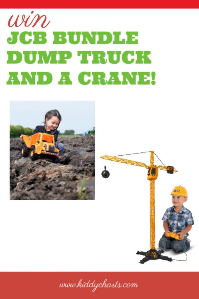 Teamsterz: Win a JCB bundle dump truck and a crane!