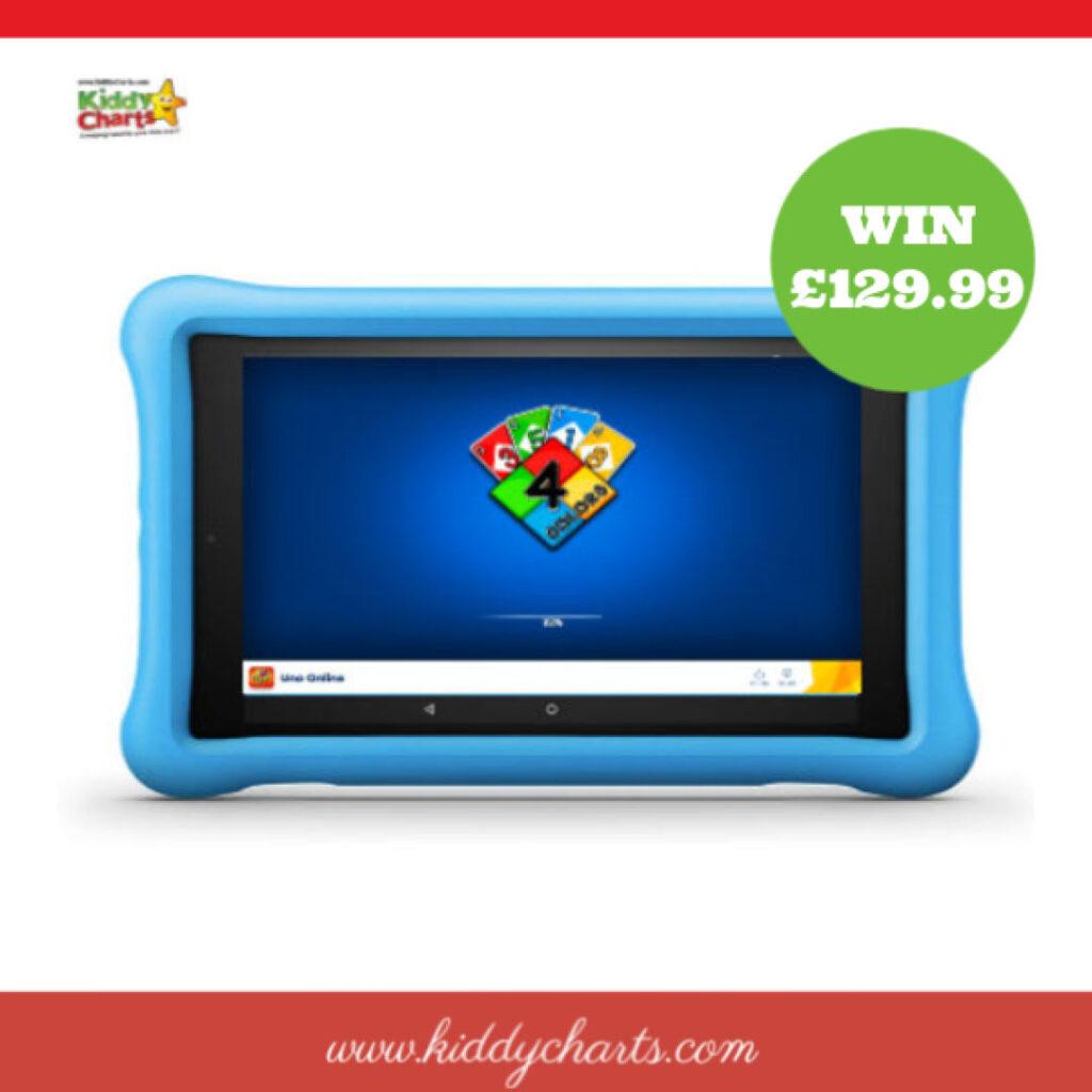 Win an Amazon Fire HD Kids Edition!