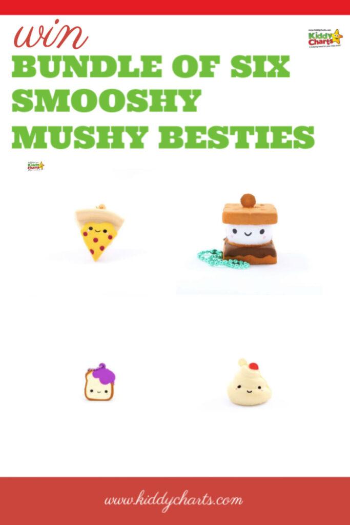 Selection of four smooshy mushy besties.