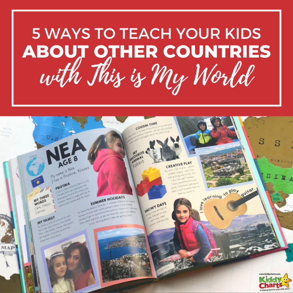 5 ways to teach your kids about other countries