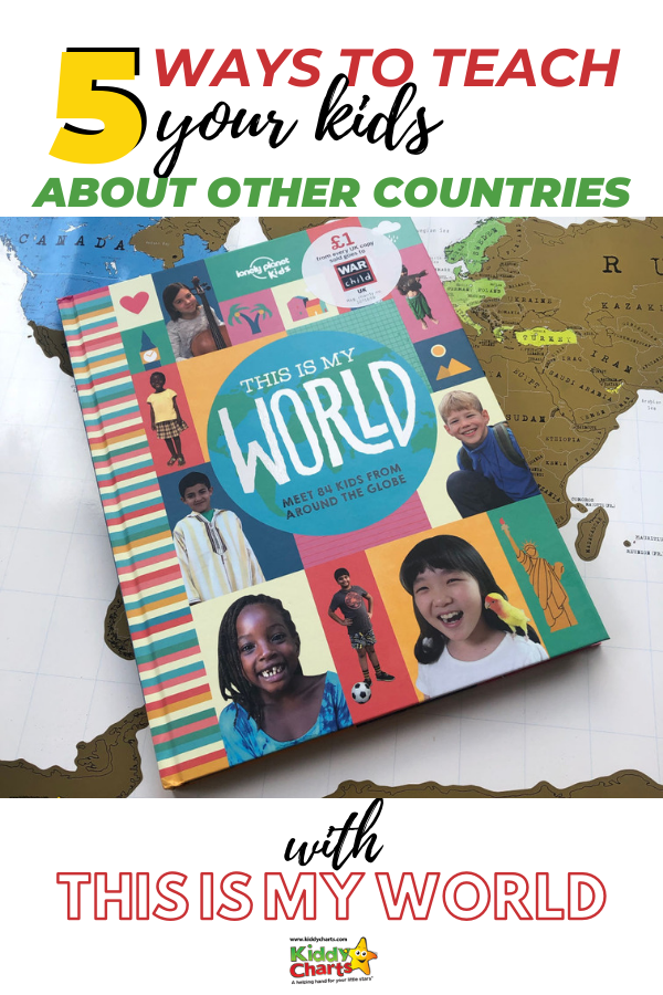 Today we take a look at one of Lonely Planet's Kids books today; a book which enables you to meet 84 kids from different countries: This is My World.
