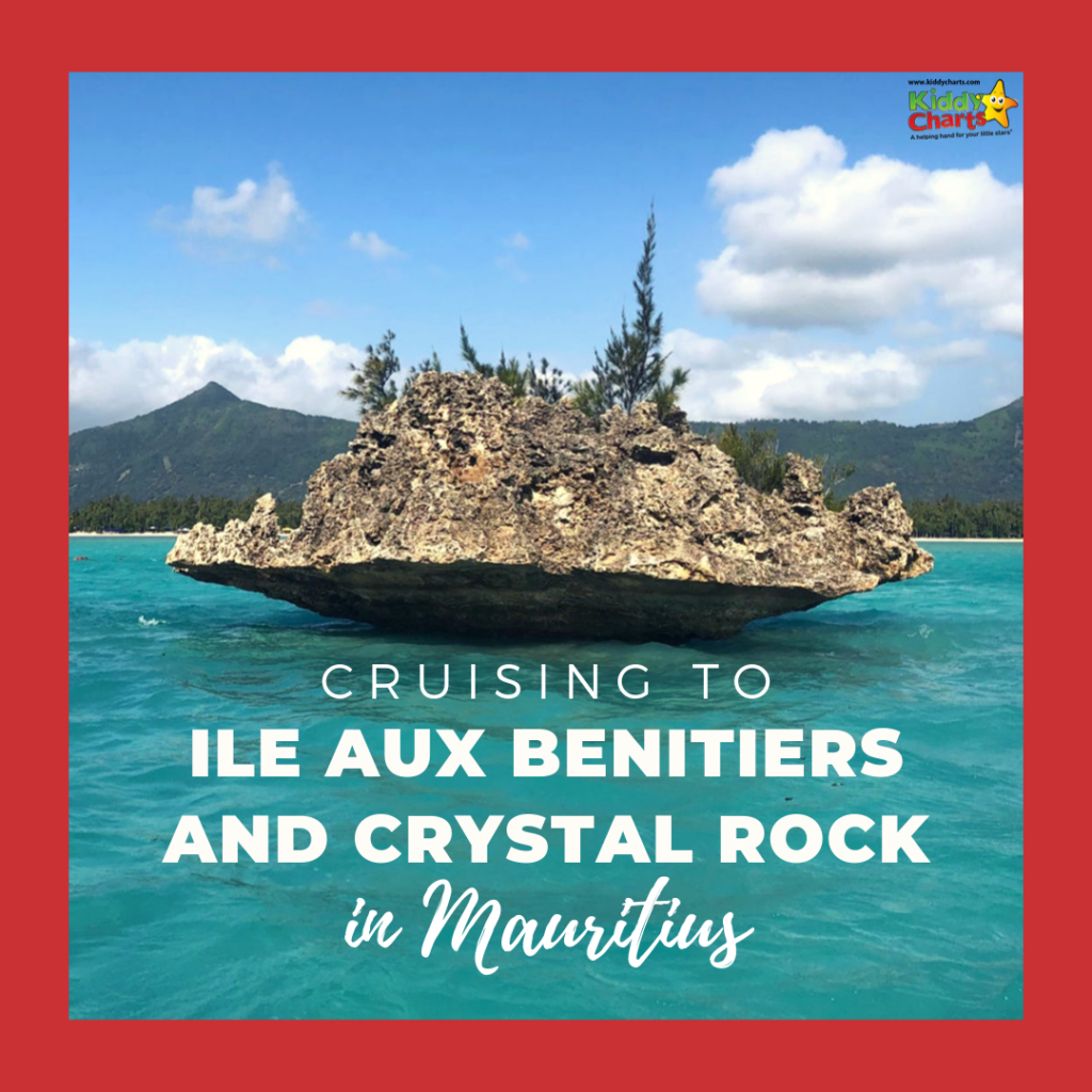Cruising to Ile aux Benitiers and Crystal Rock in Mauritius.