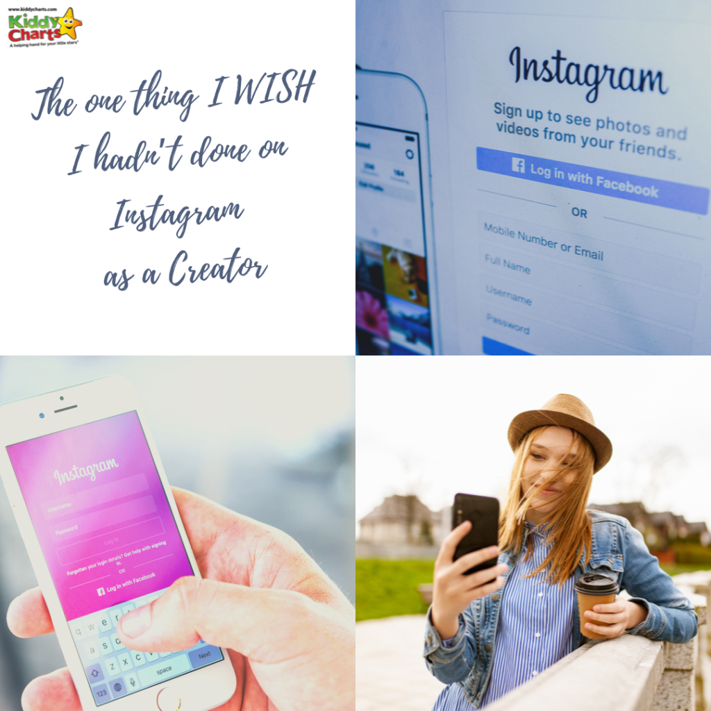 When working on Instagram as a creator, there are certain things you shouldn't do!