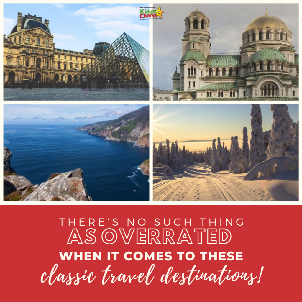 Classic travel destinations!