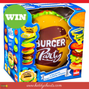 Burger party giveaway!