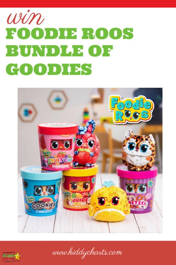 Win a bundle of 3 Foodie Roos!