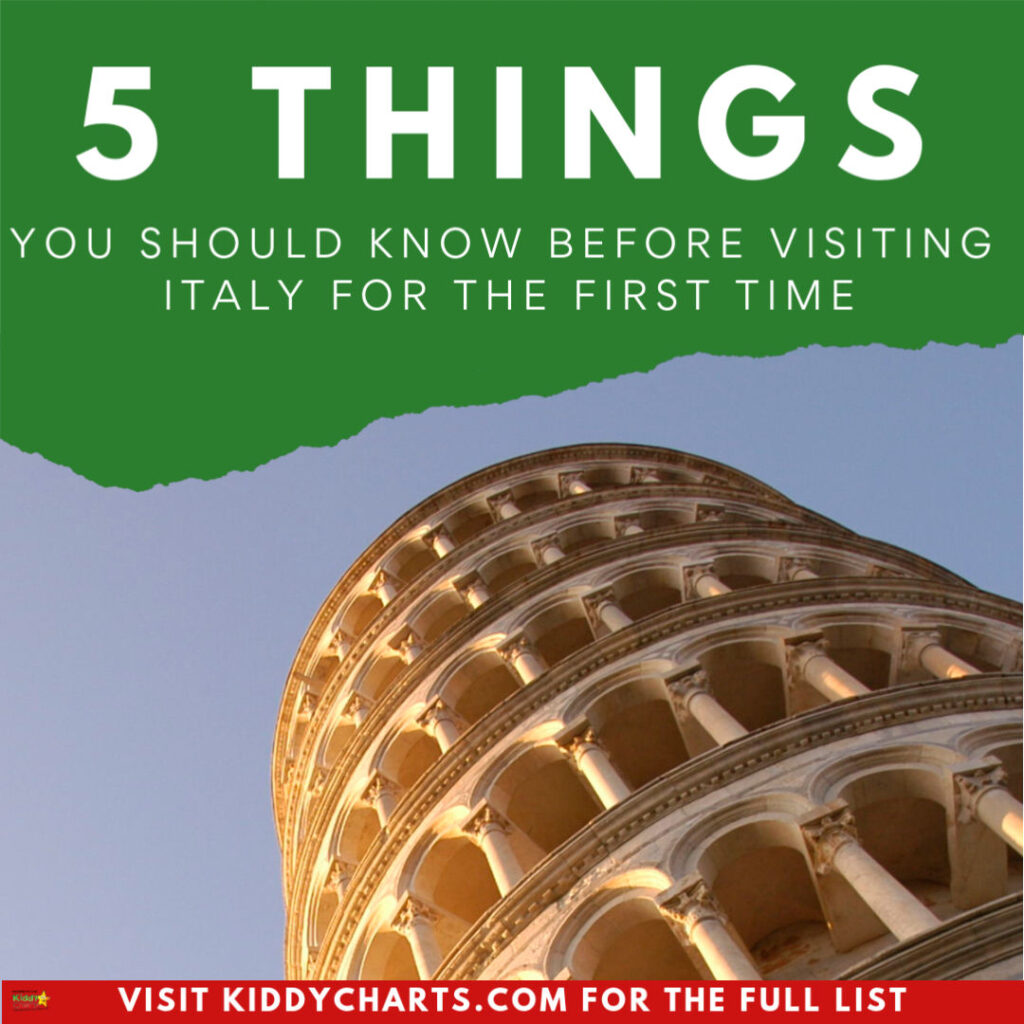 Visiting Italy for the First Time: 5 things you should know!
