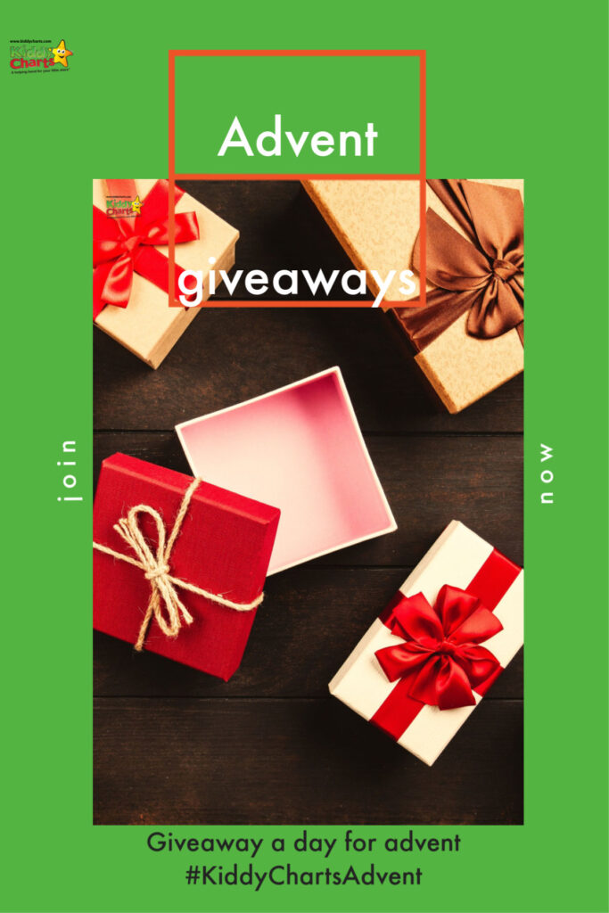It is BACK. Our Christmas Advent giveaways are going to be coming back to the site in December, and you HAVE to be in it, to win it *again*!