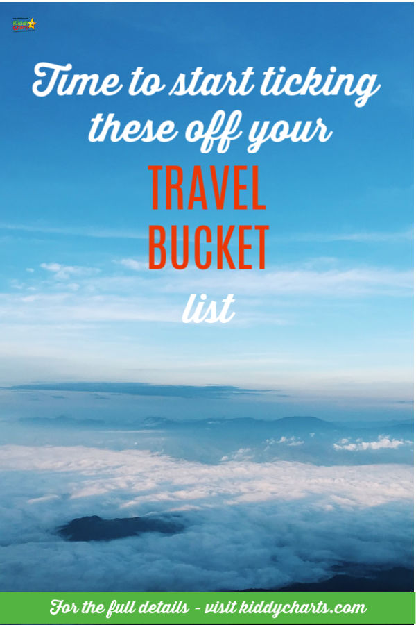 Time to start ticking these places off your travel bucket list!