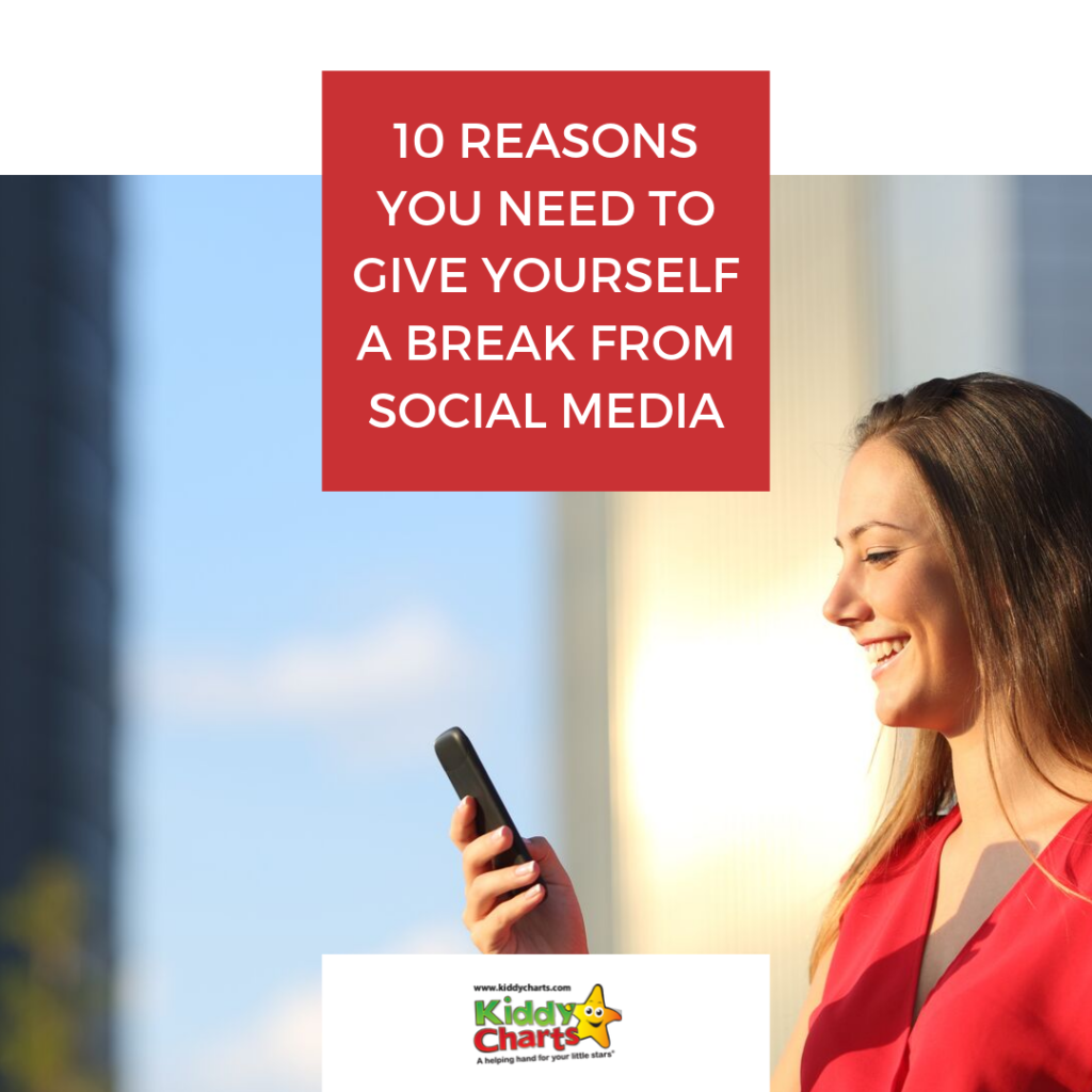 Perhaps it's time you gave yourself a break from social media? Here are 10 reasons why you should