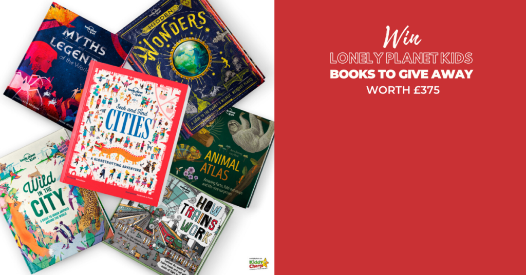 We've got five fantastic lonely planet kids books bundles – worth over £75 each – to give away on day 3 of Kiddy Charts Advent!