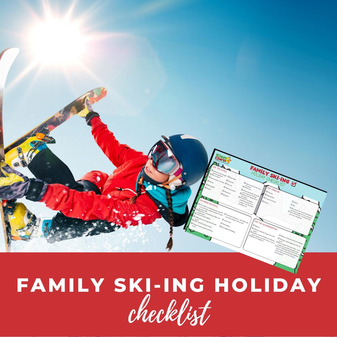 Family ski-ing holiday check list