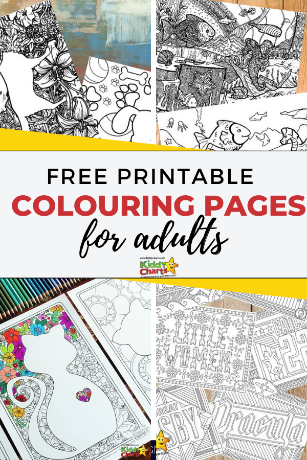 - Free Printable Colouring Pages For Adults - KiddyCharts