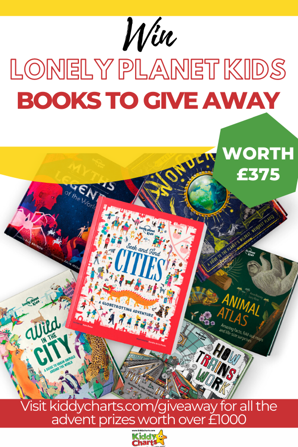 We've got five fantastic kids books bundles – worth over £75 each – to give away on day 3 of Kiddy Charts Advent!