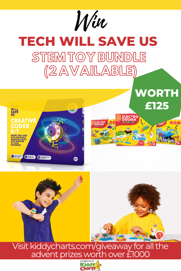 Tech Will Save Us STEM toy bundle worth £125