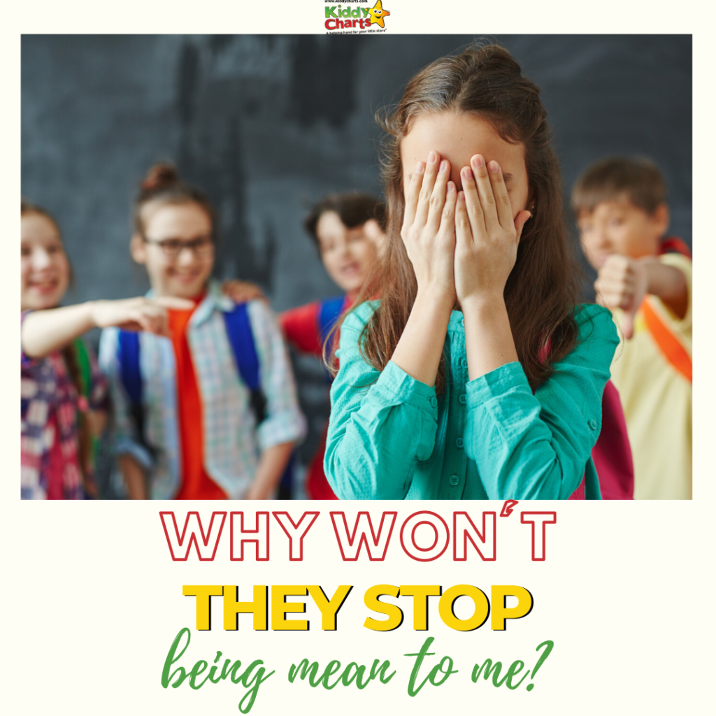 Why won't they stop being mean to me? antibullyingweek #BeKind
