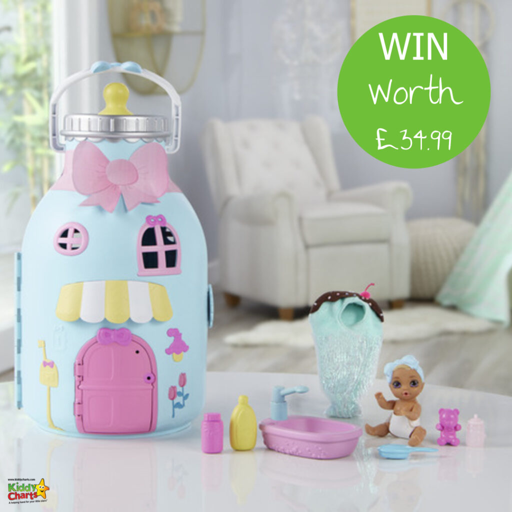 The new BABY born Surprise Bottle Playset is the perfect home for your BABY born Surprise dolls. Win one in our fantastic giveaway today!