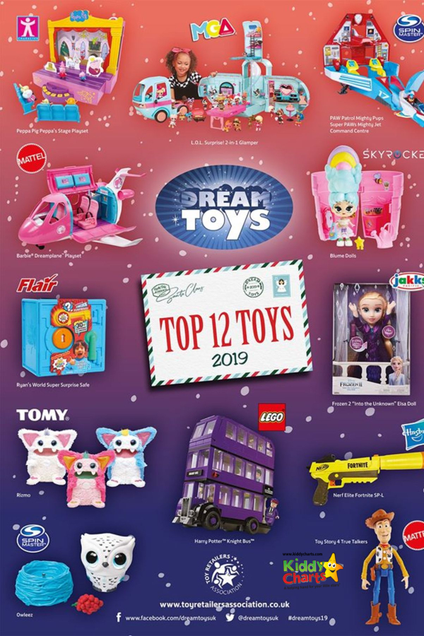 Did you know that the toy industry makes £1billion from toy sales at Christmas? And Dream Toys make some the best toy gifts out there!