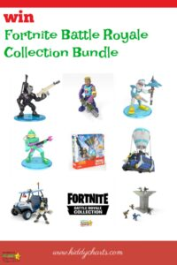 Win a Fortnoite Battle Royale collection!