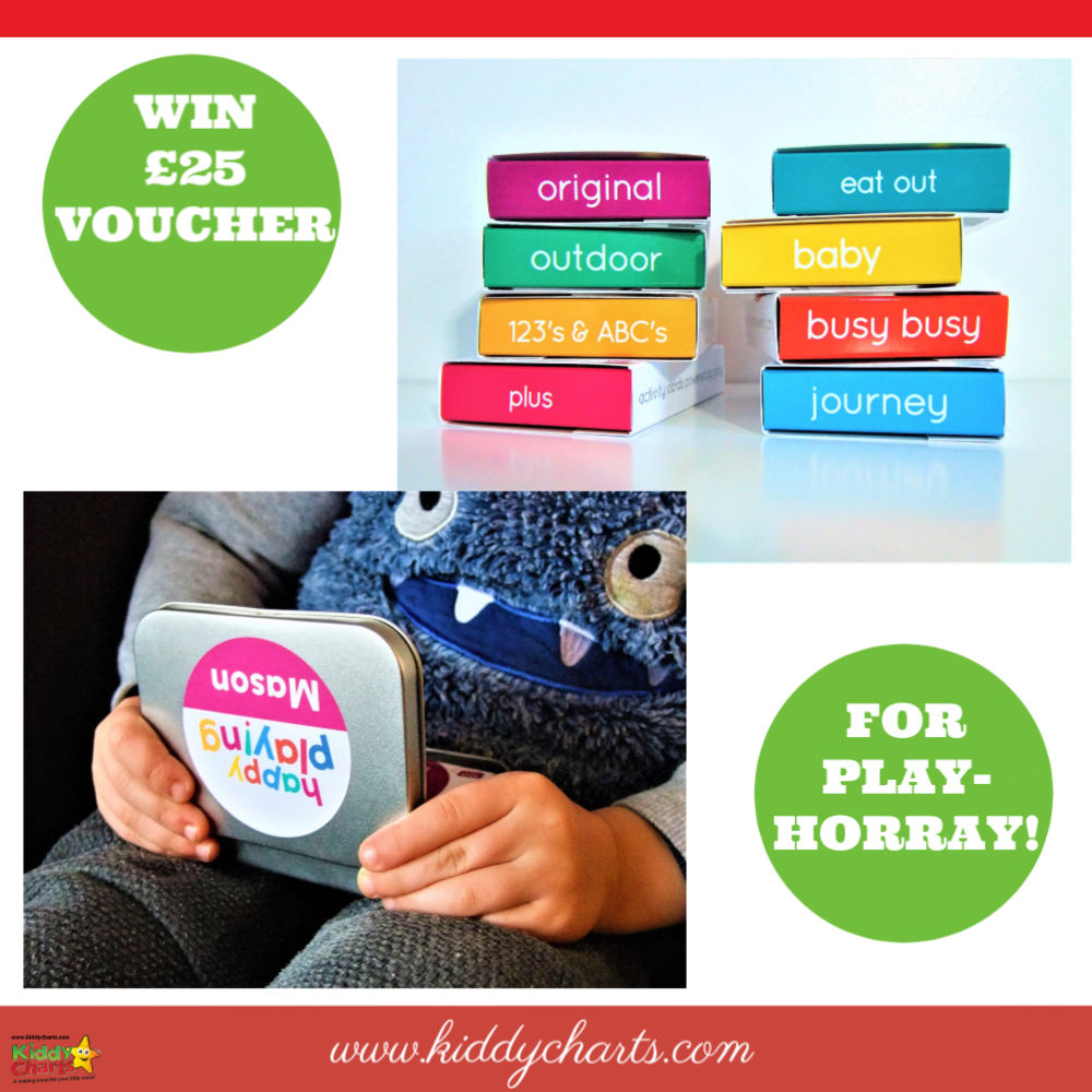 Keep your little ones busy and give yourself five minutes for a cuppa, with PlayHOORAY playPROMPTS. We've got a £25 voucher to give away!