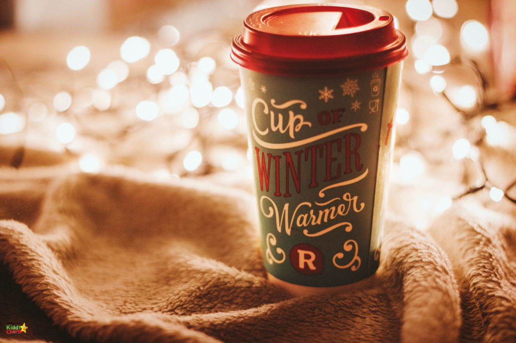 Cup of winter warmer drink.