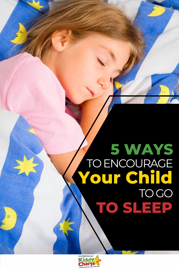 One thing that almost every parent has to deal is the struggle to get kids to sleep. Here are 5 ways to encourage your child to go to sleep.